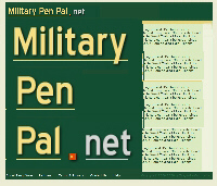 pen pal military dating